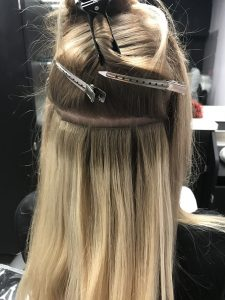 Tape in the best hair extensions